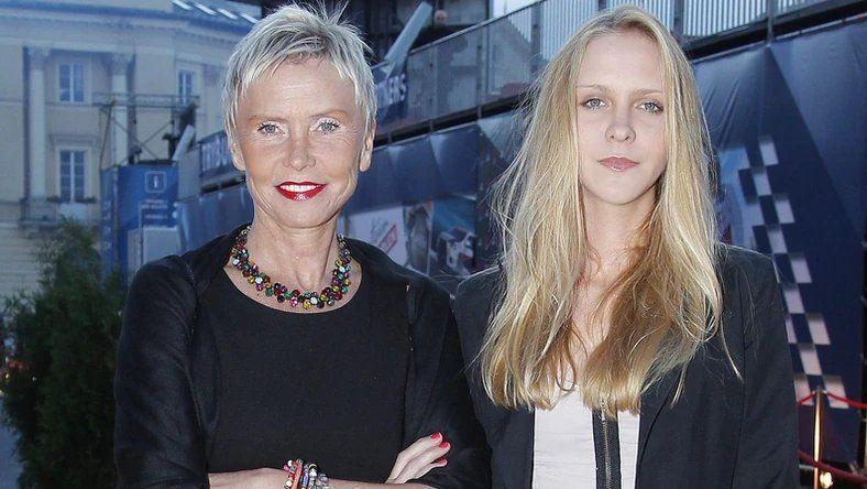 Ewa Błaszczyk z córką