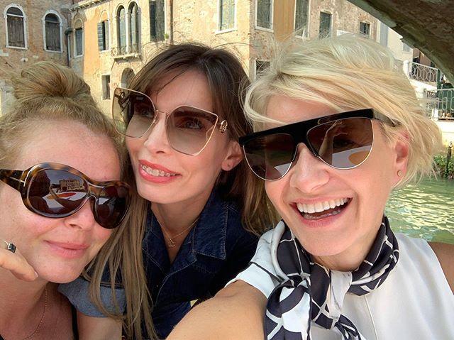 Małgorzata Kożuchowska, Daria Widawska, Agnieszka Dygant na festiwalu filmowym w Wenecji