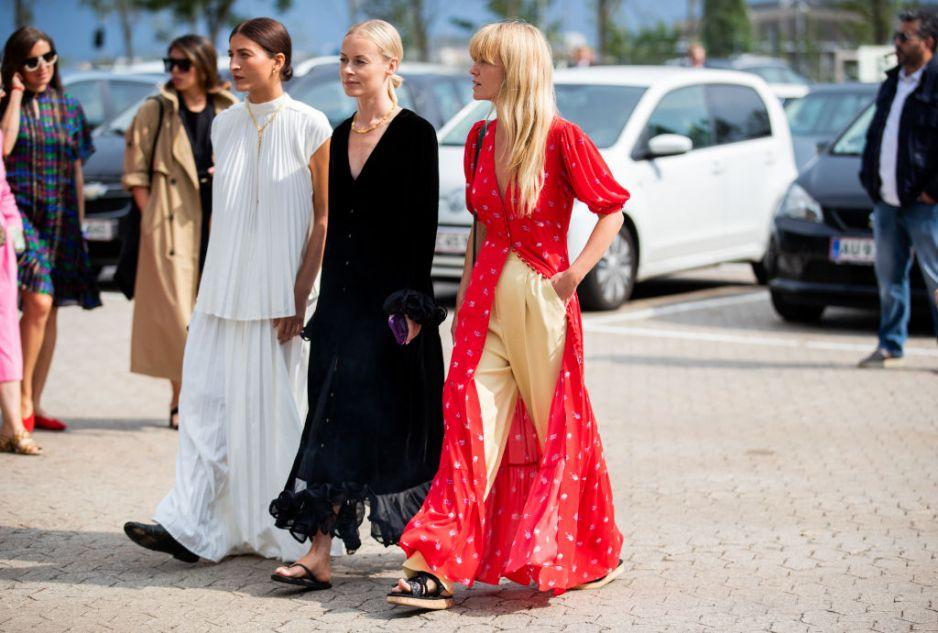 Trendy moda jesień 2019: przegląd sukienek