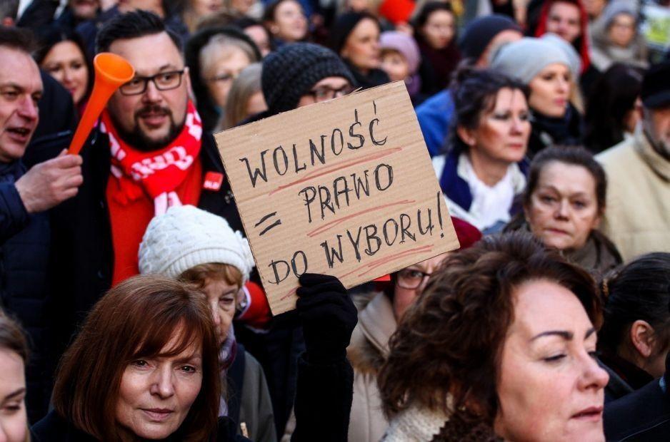 """Dziś protest """"jesień średniowiecza"""""""