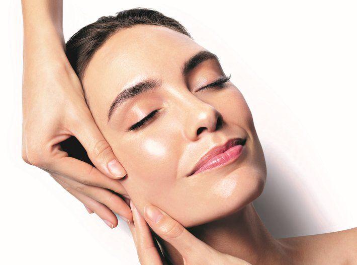 Liftingujący masaż