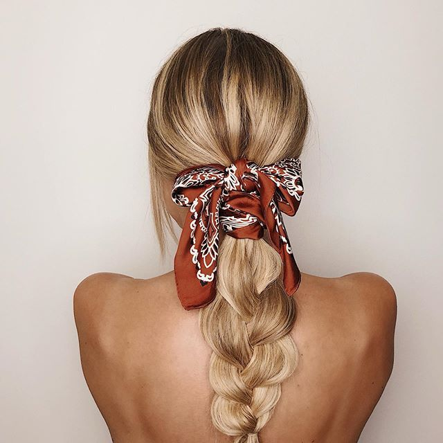Jedwab na włosy