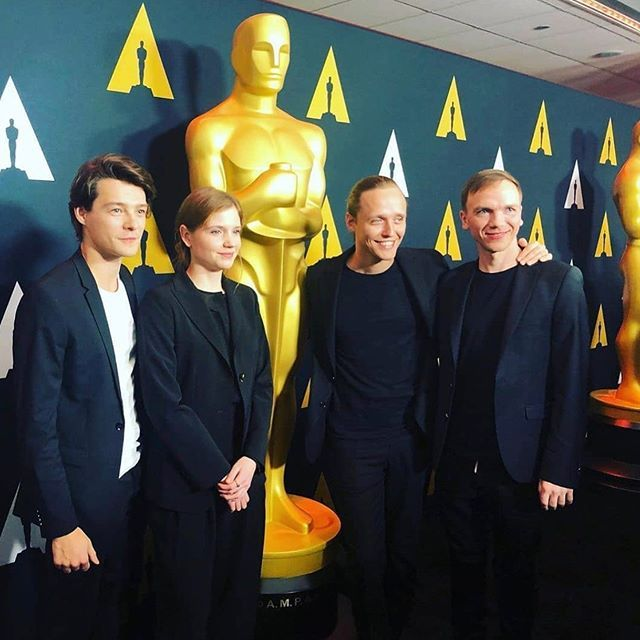 """Jan Komasa z ekipą filmu """"Boże Ciało"""" w Hollywood"""