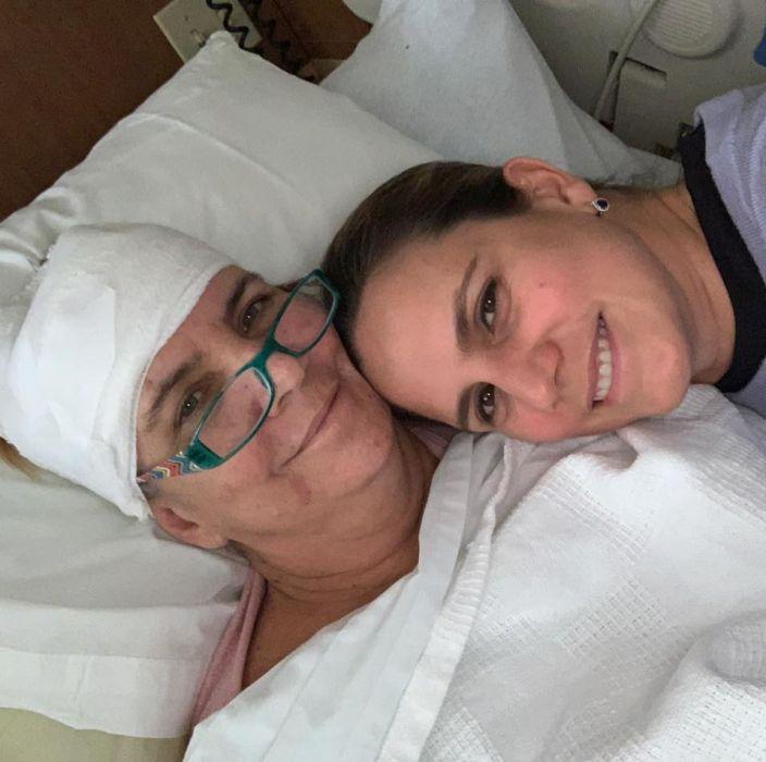 Marie Schambach ze swoją mamą
