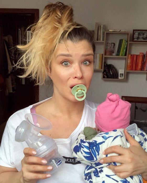 Maria Konarowska porównuje macierzyństwo do kwarantanny