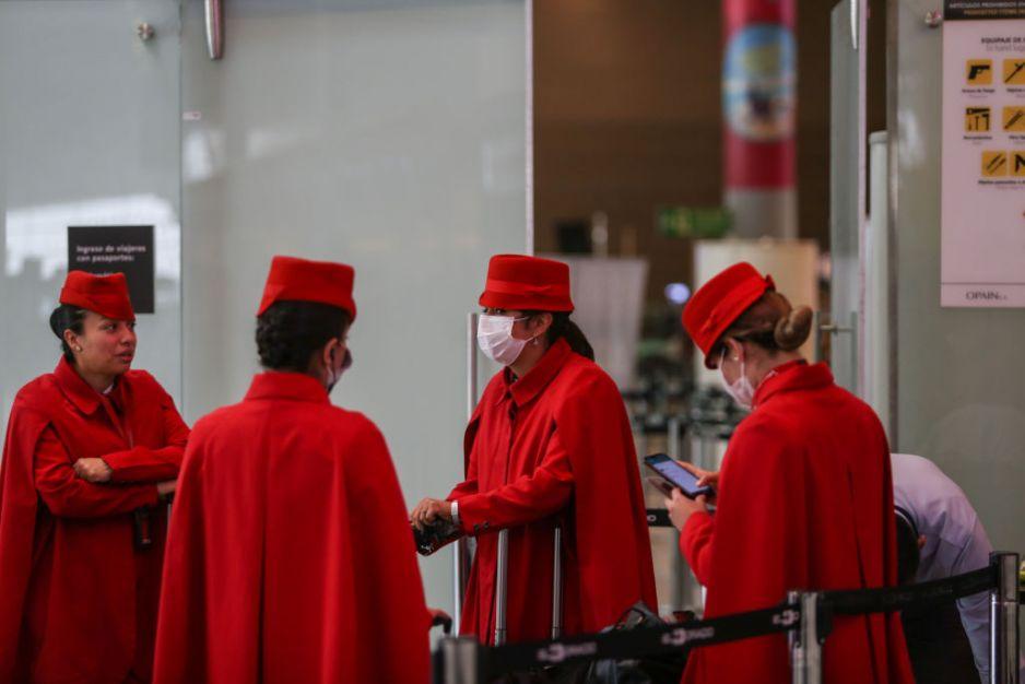 Stewardessy o sytuacji podczas lotów