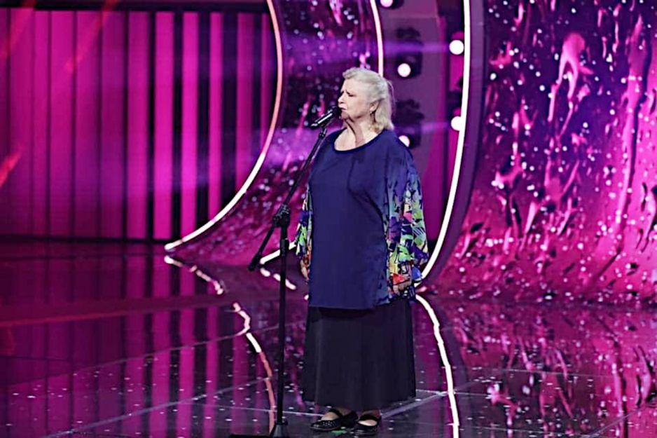 Stanisława Celińska na Festiwalu w Opolu