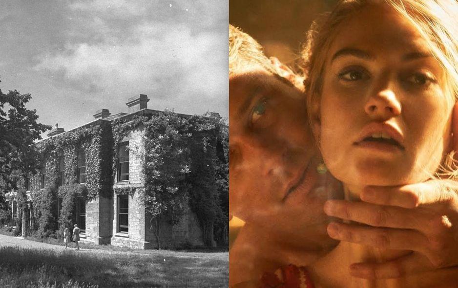 """Tajemniczy dom z filmu """"Rebeka"""""""