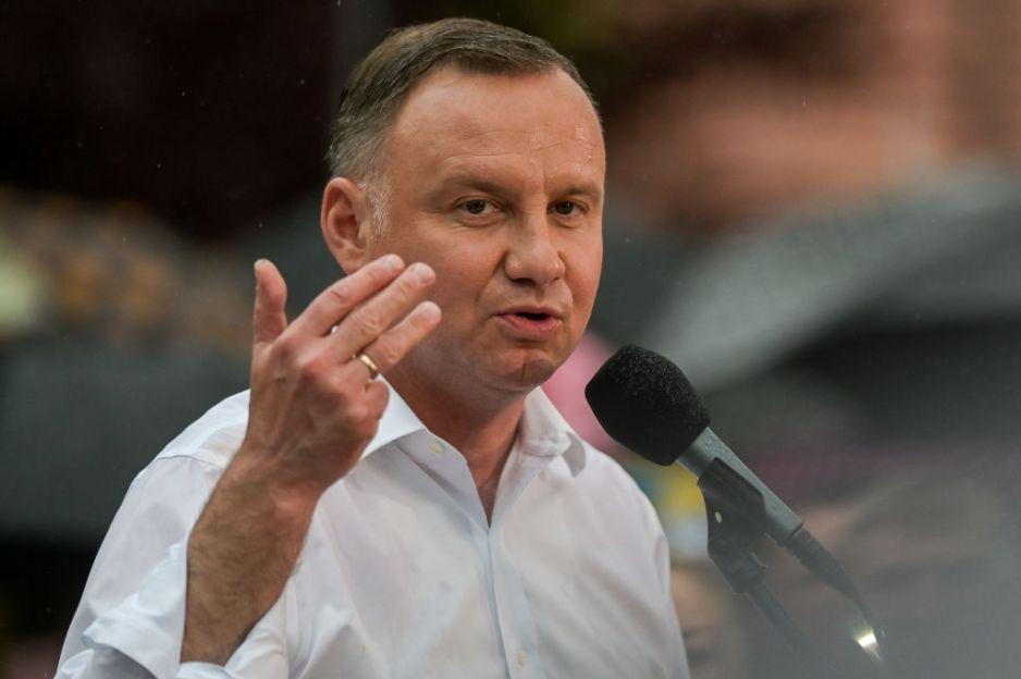 """Andrzej Duda w końcu zabrał głos po decyzji TK w sprawie aborcji: """"Nie może być tak, że prawo nakazuje kobiecie tego typu heroizm"""""""