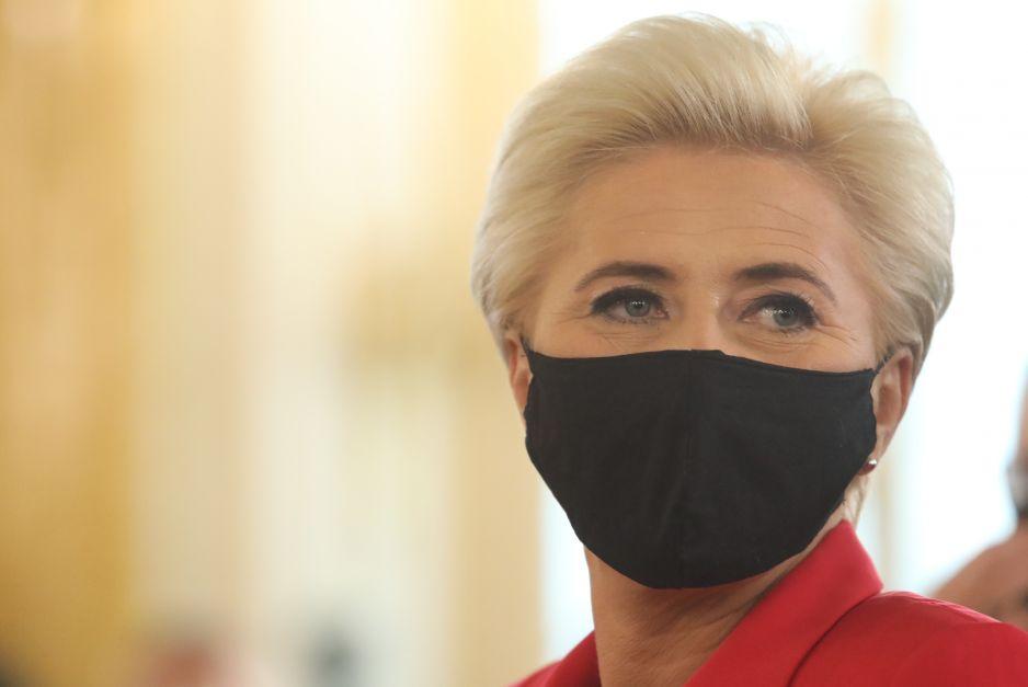 Agata Duda poparła Strajk Kobiet?
