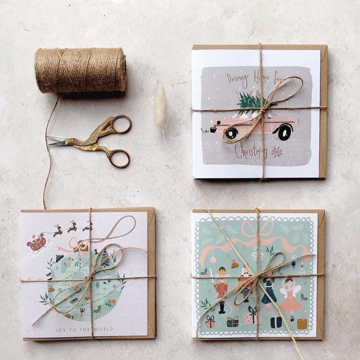 Kartki świąteczne ręcznie robione