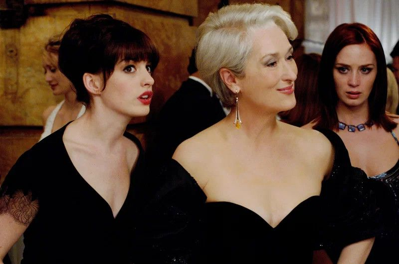 """Anne Hathaway wspomina casting do filmu """"Diabeł ubiera się u Prady"""""""