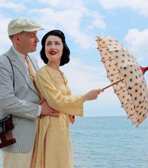 By ją poznać, przemierzył tysiące kilometrów. Połączyła ich wielka miłość do vintage!