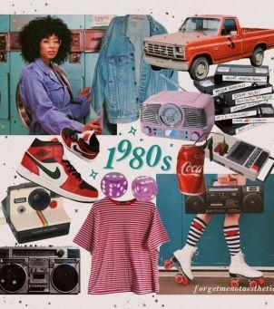 Oversizowe marynarki, mom jeans, szerokie ramiona i ortalionowe dresy - zainspiruj się modą lat 80.!