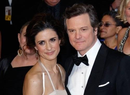 1. Zdjęcie  - Livia Giuggioli & Colin Firth - to właśnie miłość