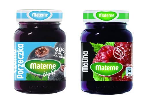 1. Zdjęcie  - Soczysty smak owoców w nowych opakowaniach Materne