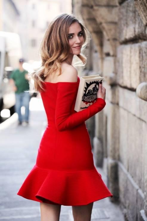 7. Zdjęcie  - Jak nosić czerwoną sukienkę?