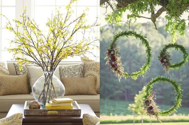 1. Zdjęcie  - Wiosenne dekoracje. INSPIRACJE