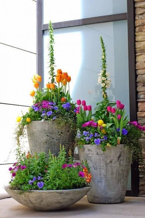 5. Zdjęcie  - Wiosenne dekoracje. INSPIRACJE