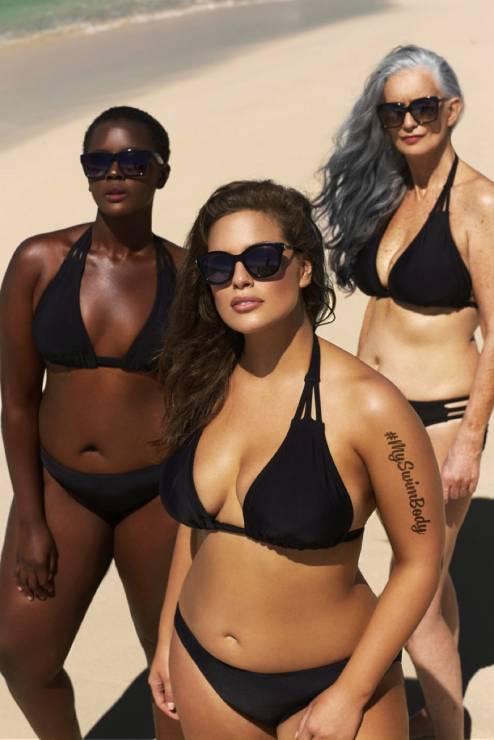 2. Zdjęcie  - Modelki plus size namawiają do noszenia bikini!