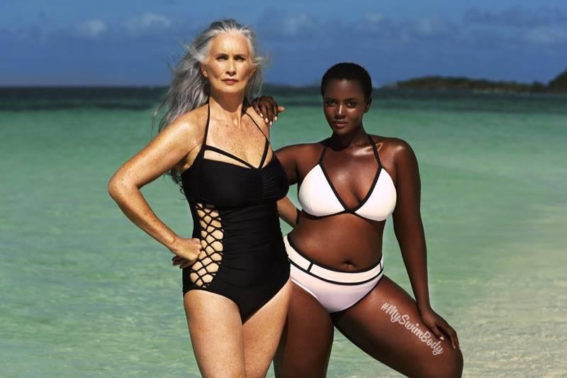 4. Zdjęcie  - Modelki plus size namawiają do noszenia bikini!