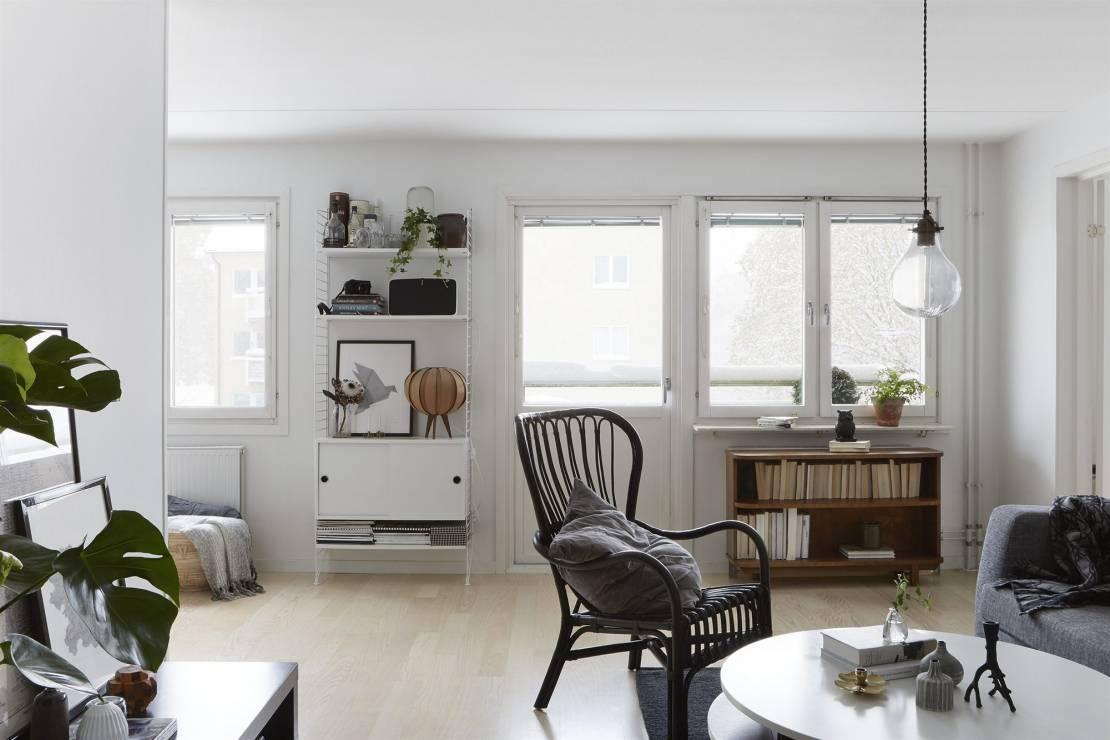 4. Zdjęcie  - Małe mieszkanie w skandynawskim stylu