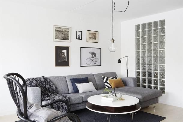 1. Zdjęcie  - Małe mieszkanie w skandynawskim stylu