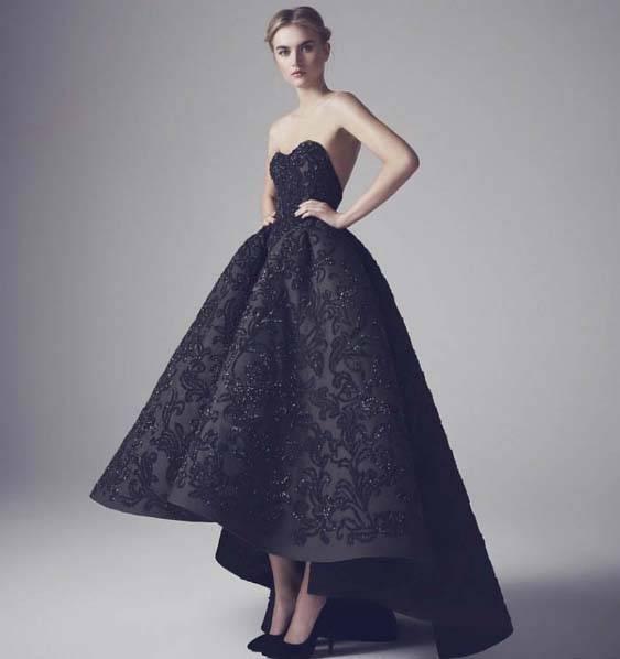 czarne-buty-do-czarnej-sukienki - Jakie dodatki do czarnej sukienki?