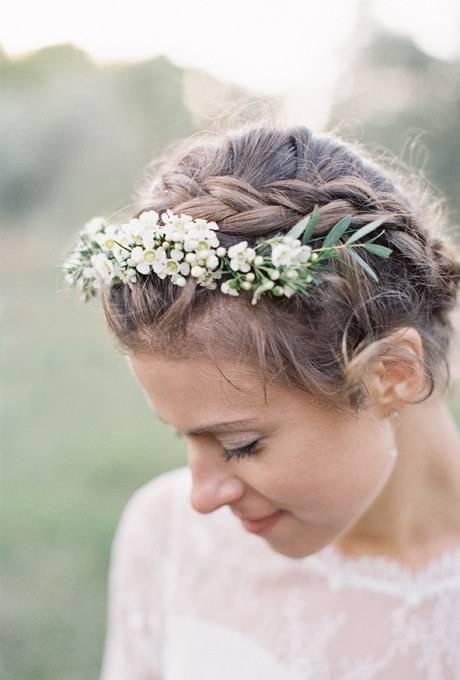 Fryzury ślubne W Stylu Boho Inspiracje Piękne I Proste