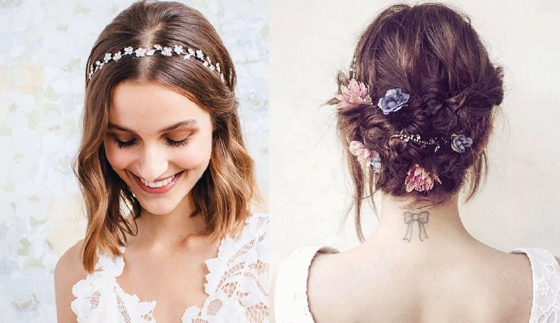 Fryzury ślubne dla krótkich włosów - 17 oszałamiających fryzur ślubnych dla KRÓTKICH włosów