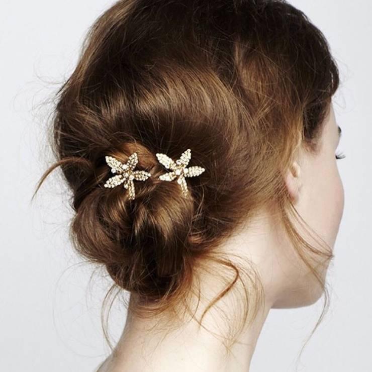 Fryzura ślubna dla krótkich włosów - kok - 17 oszałamiających fryzur ślubnych dla KRÓTKICH włosów