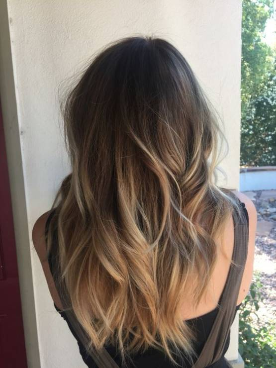 Fryzura Długie Włosy Ombre Grube Włosy Pod Kontrolą 10