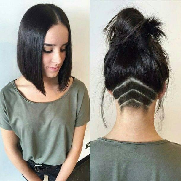 Fryzura Podcięcie Grube Włosy Pod Kontrolą 10