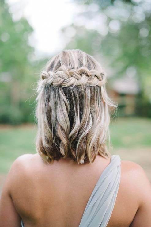 Fryzura ślubna dla krótkich włosów - 17 oszałamiających fryzur ślubnych dla KRÓTKICH włosów
