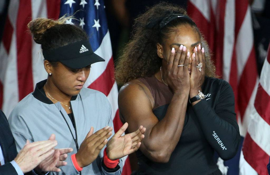 Serena Williams i Naomi Osaka, US Open 2018 - Serena Williams oskarża sędziego o seksizm: mężczyzna nie dostałby takiej kary