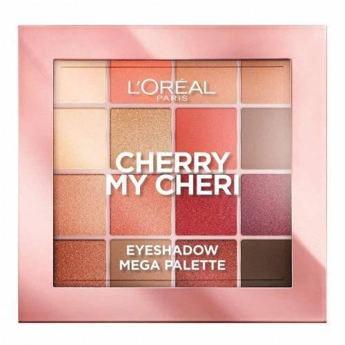 L'Oreal Makeup Cherry Mon Cheri - TOP 10: najmodniejsze cienie do powiek na jesień