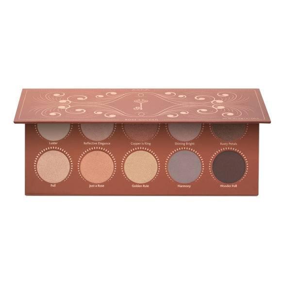 ZOEVA Rose Golden Eyeshadow Palette - TOP 10: najmodniejsze cienie do powiek na jesień