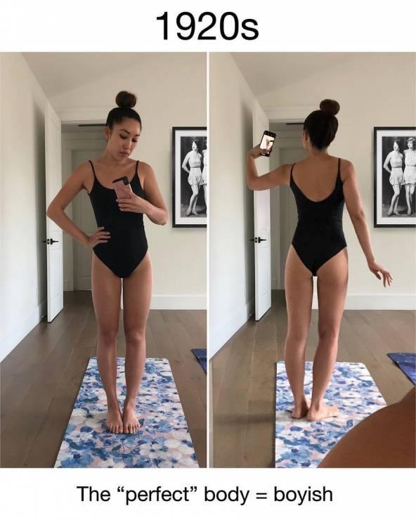 Jak zmieniała się idealna figura na przestrzeni lat? - Moda na idealne ciało: jak zmienił się ideał figury przez lata?