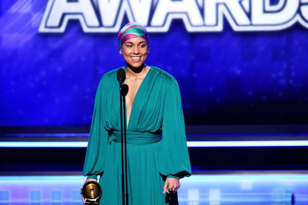 Alicia Keys, Grammy 2019 - Grammy 2019 to triumf kobiet! Lady Gaga, Michelle Obama i Alicia Keys razem na jednej scenie