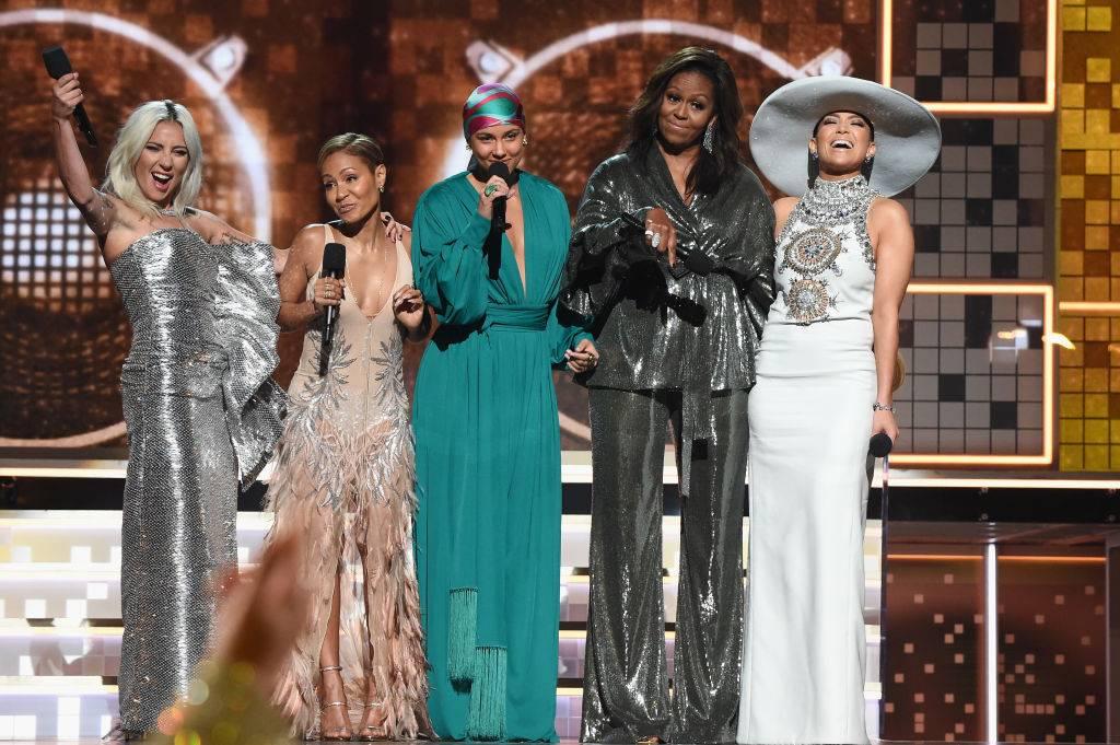 Grammy 2019 - Grammy 2019 to triumf kobiet! Lady Gaga, Michelle Obama i Alicia Keys razem na jednej scenie