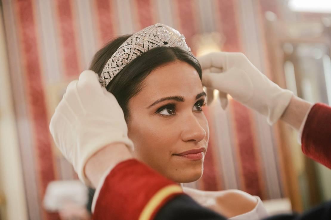 """Kadry z filmu """"Harry and Meghan: Becoming Royal"""" - """"Harry and Meghan: Becoming Royal"""" – są pierwsze kadry z filmu o miłości książęcej pary"""