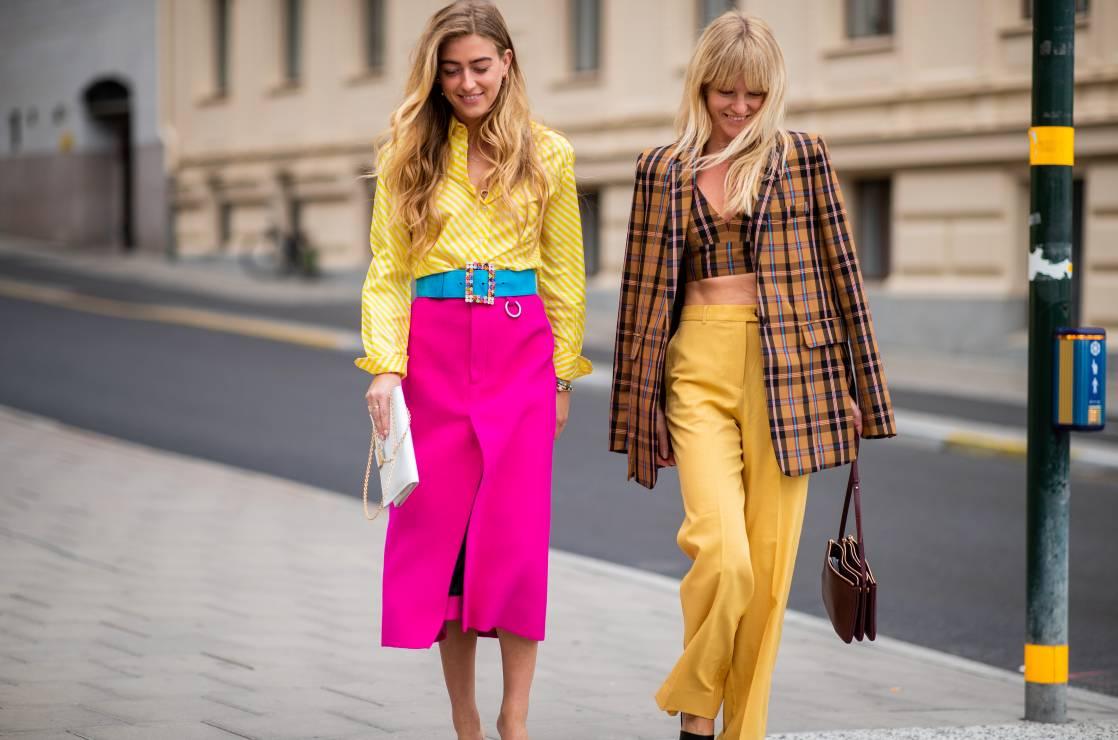 Mocne połączenia modne kolory lato 2019: trendy moda lato 2019 - Modne kolory na lato 2019: trendy na nowy sezon
