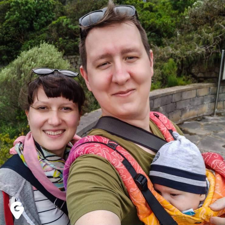 """Magda i Przemysław Czatrowscy, prowadzą bloga """"Geeki Podróżniki"""" - Najpopularniejsi blogerzy podróżniczy na Instagramie: ich konta warto znać"""