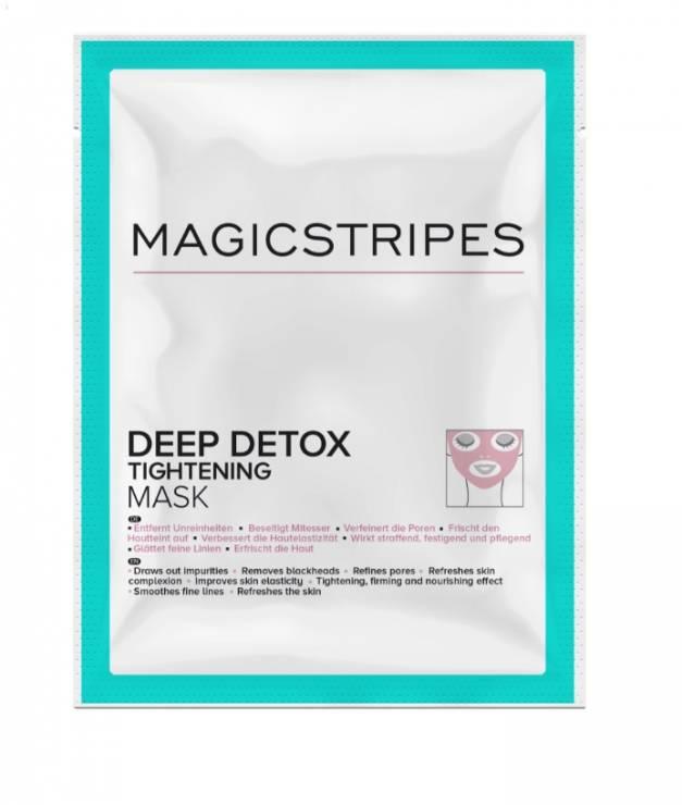 Maska do twarzy Deep Detox Tightening marki Magicstripes - Wybrałyśmy najgorętsze nowości kosmetyczne tygodnia!
