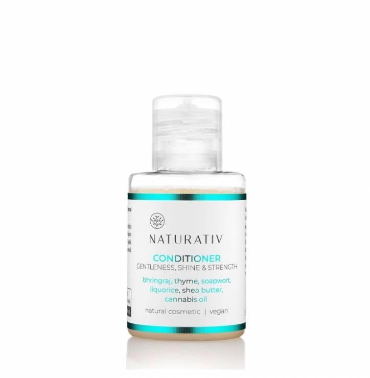 Mini Odżywka Naturativ: łagodność, blask, wzmocnienie - Nowości kosmetyczne tygodnia - wybór redakcji
