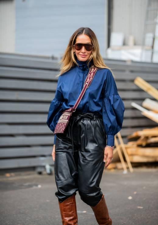 Trendy jesień 2019: galaxy blue - Trendy moda jesień 2019: ciemne kolory na jesień