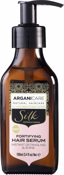 Fortifying Silk hair serum Wzmacniające serum z jedwabiem - TOP 12 nowości kosmetycznych rekomendowanych przez redakcję