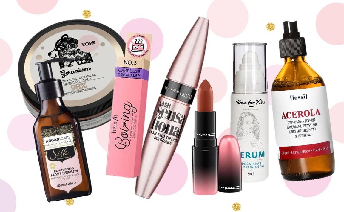 Nowości kosmetyczne tygodnia - TOP 12 nowości kosmetycznych rekomendowanych przez redakcję