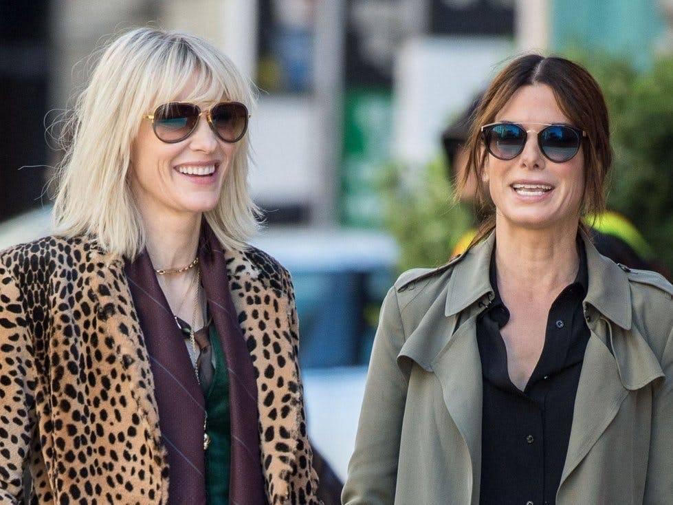 """Sandra Bullock i Cate Blanchett w filmie """"Ocean's 8"""" - Premiery HBO i HBO GO na wrzesień 2019 - """"Ocean's 8"""", """"Przedszkolanka"""" i inne nowości"""