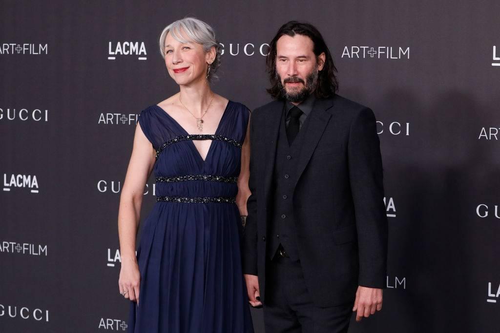 Keanu Reeves i Alexandra Grant - Keanu Reeves bierze ślub z Alexandrą Grant? Światowe media mówią tylko o tym